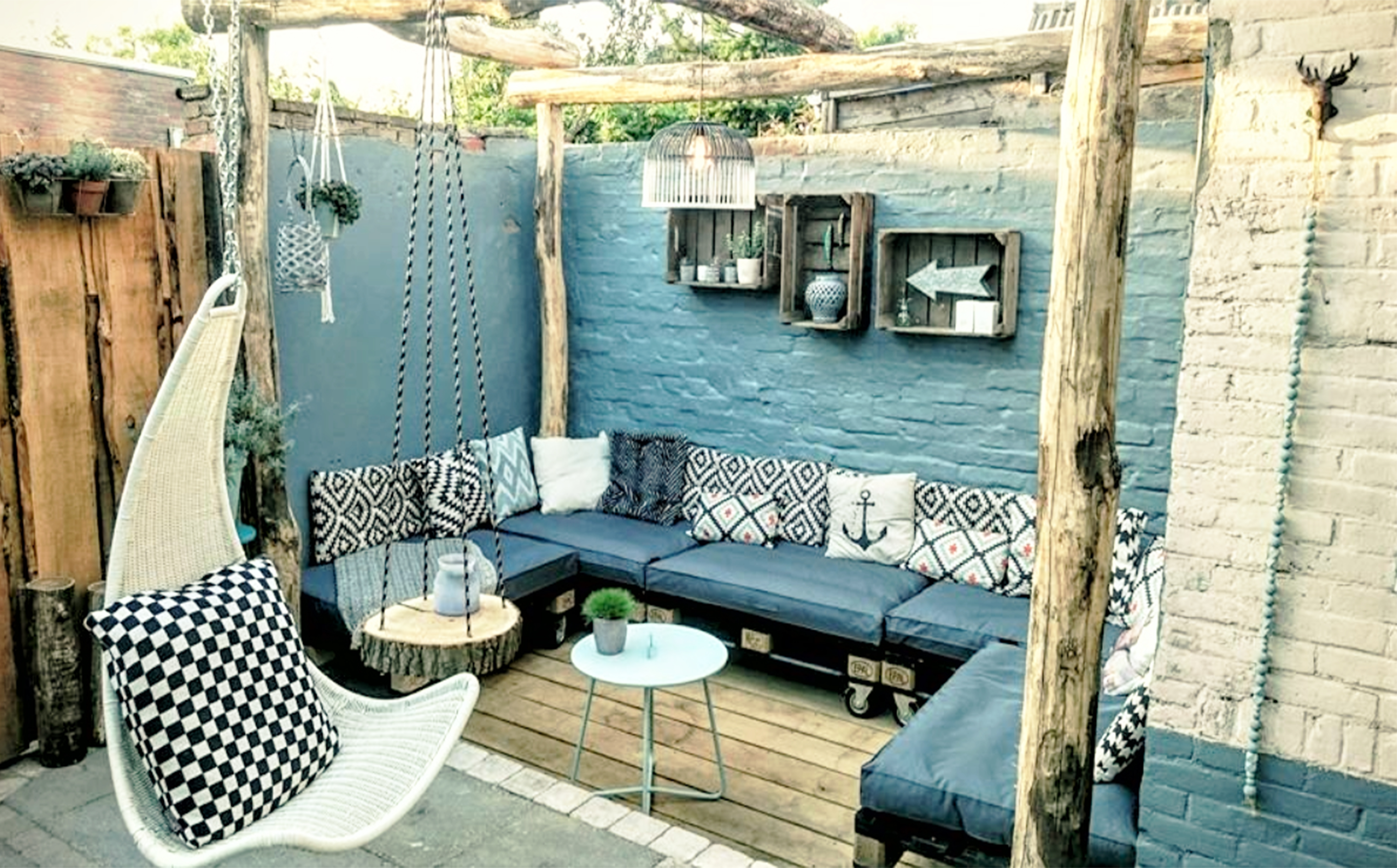 Project tuin interieur styling